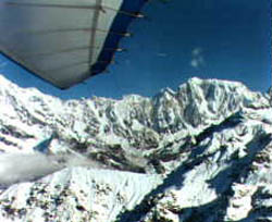 Extremely beautiful flights in Himalai mountains.