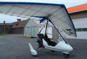 One of KLASS X-14 trikes sold in Canada.